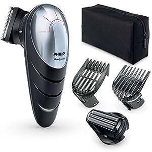Philips QC5580/32 Tondeuse cheveux avec tête pivotante 180° et sabots réglables
