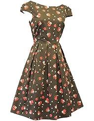 """Nuevo Rosa """" verde temáticas de Floral de Sarah Papworth Rosa 58826,4 cm S/1219,2 cm s e instrucciones para hacer vestidos diseño de tazas de té Land Vtg de golf con diseño de"""