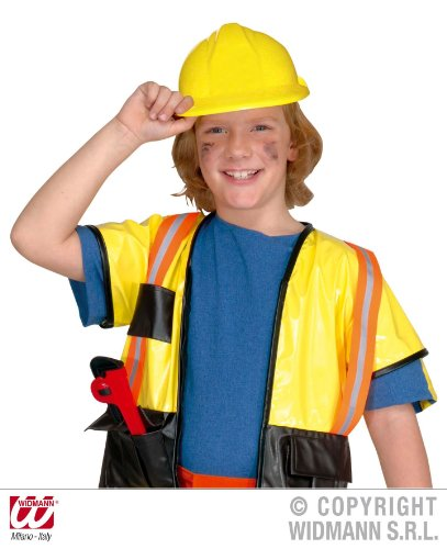 KINDER BAU HELM gelb (Hüte Kinder Bau)
