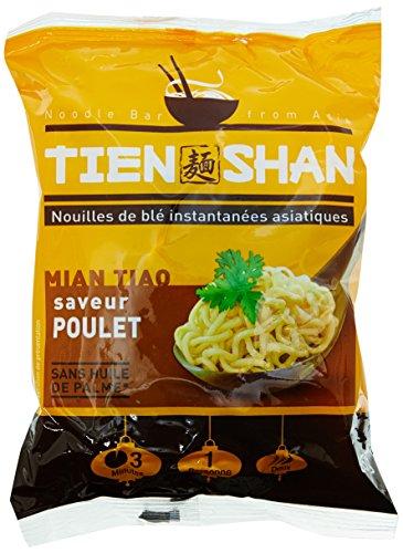 TIEN SHAN Nouilles Instantanées Blé Poulet 85 g