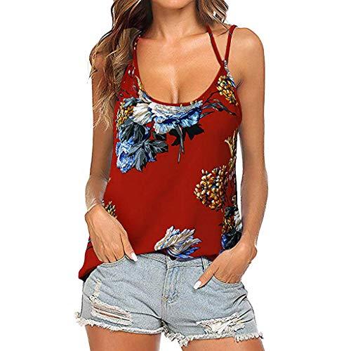 Luckycat Camisetas Mujer 2019 Camisas Mujer Blusas para Mujer Verano Sexy Deportes...