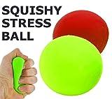 Best Seller Mesh Ball Stress Relief Squeezing Hand Therapy Finger Wrist Arthritis Physio Exerciser ~ Gift For Kids, Girls, Boys, Teen, Son, Daughter, Teenager ~ Secret Santa, Christmas, Birthday Present Idea