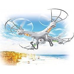 Top Race® TR-Q511 Quad hd Kamera, ultrastabil 4-Kanal Quad-Copter Drone Drohne mit Kamera & Videoaufnahme, mit 1 Rückkehr- und Gewindemodusoption, fpv, mini rc, dji k syma