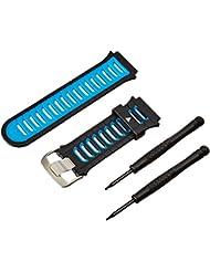 Garmin 010-11251-41 Bracelet pour Forerunner 920XT Noir/Bleu