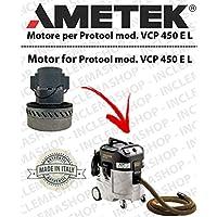 VCP 450y l Motor aspiración ametek para aspiradora y te Protool