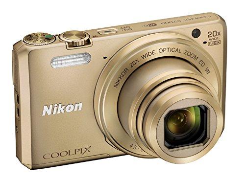 Nikon Coolpix S7000 Digitalkamera (16 Megapixel, 20-fach opt. Zoom, 7,6 cm (3 Zoll) LCD-Display, USB 2.0, bildstabilisiert) gold - 5