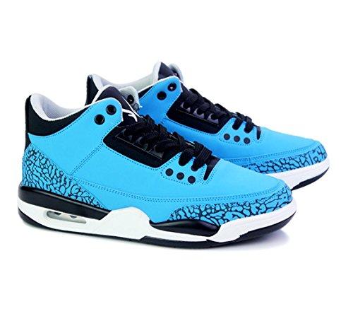 WZG Sportschuhe der Männer Kissen Laufschuhe beiläufig jugendlichen Studenten Gezeitenschuhe Spitze Schuhe Dongkuan Blue