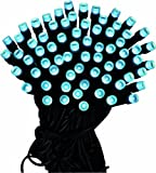 Lumineo LED Ricelight, Aussen, 3 m, 40 Lichter, schwarzes Kabel, kaltweisse Dioden 494240