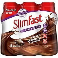 SlimfastGrueso Batido De Chocolate - 325ml (Paquete de 6)