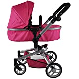 Bandits & Angels - Puppenwagen Pink Angel 2in1