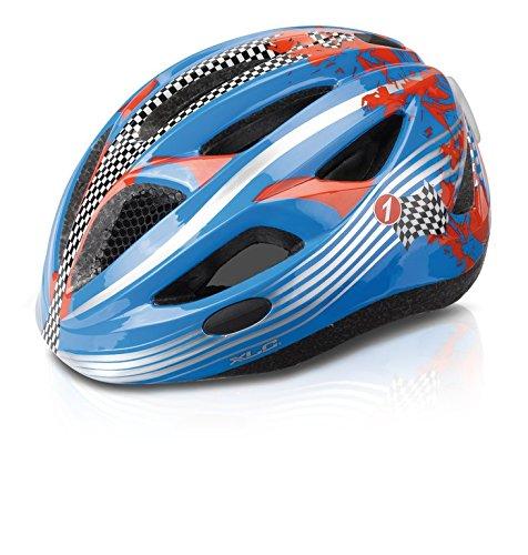 XLC Kinder Fahrrad Helm BH-C17 Größe XS/S 46-51cm blau Rennfahrer
