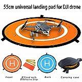 Xnature Drohne Landeplatz Drone Abschussrampe für DJI Mavic Pro, Drone Landing Pad, Faltbares Wasserdichtes D55cm Landing Pad für DJI Mavic Pro Phantom 2/3/4 Inspire 1