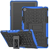 Huawei MediaPad M5 Lite 10 Case, Jhxtech Armor Style Hybrid