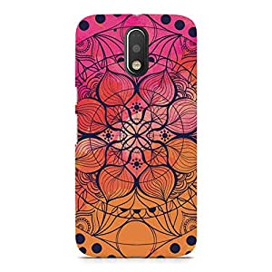Hamee Designer Printed Hard Back Case Cover for Xiaomi Redmi 4 Design 9093