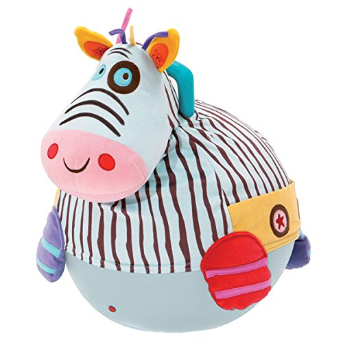Bawi 50cm The Jumping Zebra Space Hopper