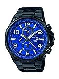Casio Herren Analog Quarz Uhr mit Edelstahl Armband EFR-302BK-2AVUEF