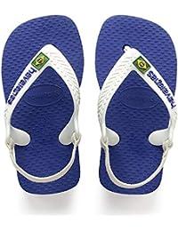 Havaianas Baby Brasil Logo II, Sandali Unisex – Bimbi 0-24
