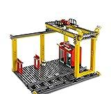 sechs verschiedene LEGO® City Sets für die Eisenbahn, aus Zug Set 60052 (Verladekran)