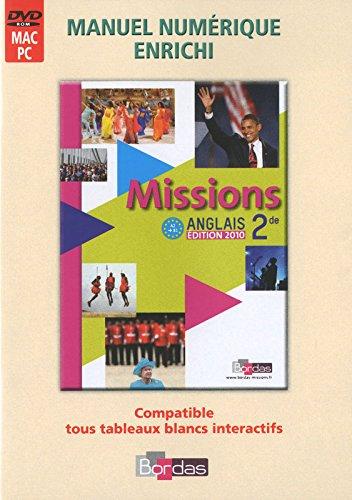 Missions 2de • Manuel numérique enrichi (Ed. 2010) - Tarif spécial