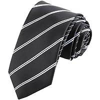 YUBIN Tira De Moda con Corbata Lingge Positivo Y Negativo Diseño De Doble Uso Comercio Casual Corbata (Color : A)