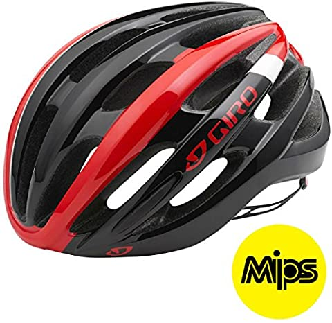 Giro Foray MIPS Helmet - Bright Red/Black,