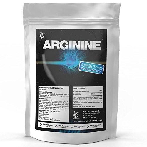 L-ARGININ | 1000 Tabletten á 3000 mg Portion | Vegan | Großpackung XXL | Semi-essentielle Aminosäure | Zum Muskelaufbau Pre-Workout & Durchblutung | Premium Qualität zum Fairen Preis