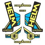 Cane Creek Sticker Kit Helm Gelb