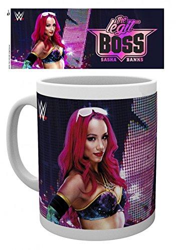 Wrestling - WWE, Sasha Banks Tazza Da Caffè Mug (9 x 8cm)