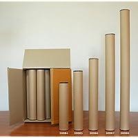 Lot de 30 tubes d'expédition en carton, Ø 8 cm/long. 1 m, robustes (30088)