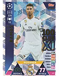 e714844ad779f Match Attax Champion Leago 18 19 Sergio Ramos 100 Club – Real Madrid 18