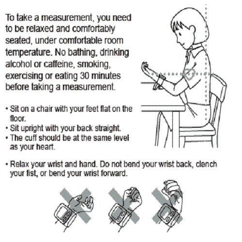 Omron RS2 Handgelenk-Blutdruckmessgerät - 6
