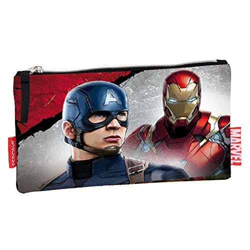 Capitan America Vs Iron Man - Astuccio Bustina
