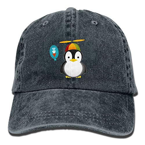 Penguin Kostüm Classic - AOHOT Herren Damen Baseball Caps,Hüte, Mützen, Classic Baseball Cap, Cute Penguins Denim Hat Adjustable Men's Low Baseball Hats