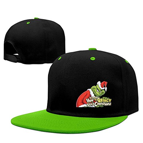 trithaer-how-the-grinch-stole-christmas-baseball-cap-hip-pop-red