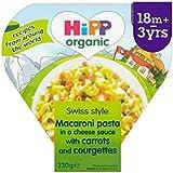 Hipp Organique Macaroni 3 Fromages Avec Des Carottes Et Courgettes 230G - Paquet de 6