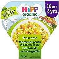 Hipp Organique Macaroni 3 Fromages Avec Des Carottes Et Courgettes 230G - Paquet de 2