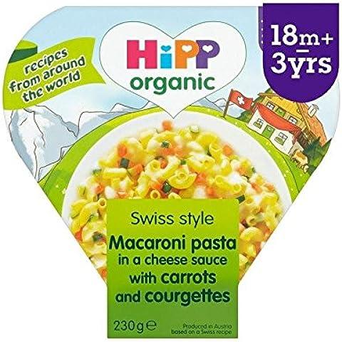 Hipp Organico Maccheroni 3 Formaggio Con Carote E Zucchine 230G - Confezione da 2
