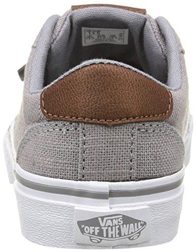 Vans Bishop, Baskets Basses Garçon Gris (Textile/Gray/Potting Soil)