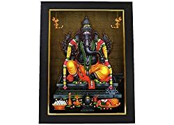 God MahaGanapati Photo Frame