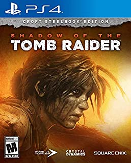SHADOW OF THE TOMB RAIDER - CROFT STEELBOOK ED - SHADOW OF THE TOMB RAIDER - CROFT STEELBOOK ED (1 GAMES) (B07CNZ1LHL) | Amazon price tracker / tracking, Amazon price history charts, Amazon price watches, Amazon price drop alerts