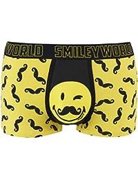 Pomm'poire - Boxer imprimé Moustache Joke by Smiley - Homme