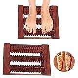 Legno 3 canne Massager del piede, Pain & Stress Relief Massager, Massaggiatore Accupressure Regali speciali sulla festa della mamma. immagine