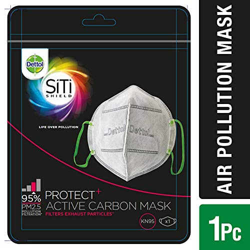 Dettol SiTi Shield Carbon Activated Air Pollution Mask