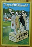 diseño de la placa de ujieres \ 's whisky con diseño de caballos de carreras