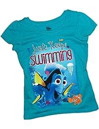 Just Keep Swimming -- Disney Pixar Finding Dory Toddler Girls T-Shirt
