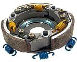 Embrayage réglable EVO RACING 107mm pour NECO Abruzzi 50cc, 65, GT, Azzuro, GP, Oro, Borsalino Due