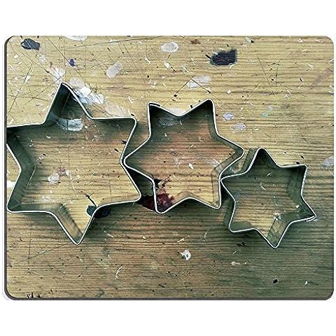 Liili Mouse Pad-Tappetino per Mouse in gomma naturale con immagine: ID 27307635 per biscotti, motivo: