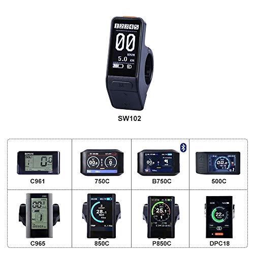 bafang Mittelantriebsanzeige, Mittelmotor, 750C, 850C, P850C, C961, C965, C18, 500C, SW102, Mittelantriebssystem, SW102 Rs 232-lcd-display