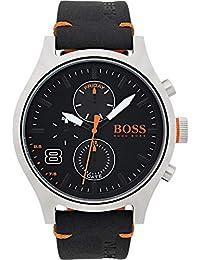 e16ea8eb80b8 Hugo Boss Orange Homme Multi-cadrans Quartz Montres bracelet avec bracelet  en Cuir - 1550020
