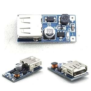 Wholesaleintheworld-Dc-Dc Converter Step Up Module 0.9-5v To 5v 600MA USB Charger